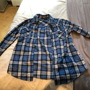 F21 Blue Flannel